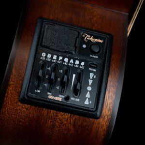 Gitara akustyczna Takamine P2DC - preamp