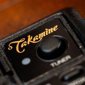 Gitara akustyczna Takamine P2DC - preamp logo