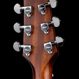 Gitara akustyczna Takamine P2DC - tył główki