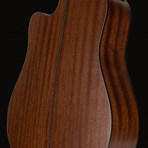 Gitara akustyczna Takamine P2DC - tył pod kątem