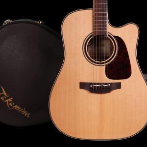 Gitara akustyczna Takamine P4DC - Futerał