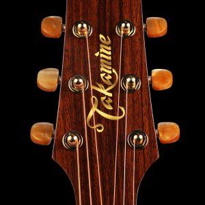 Gitara akustyczna Takamine P4DC - główka