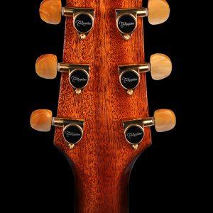 Gitara akustyczna Takamine P4DC - główka tył