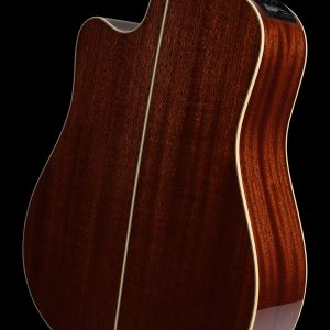 Gitara akustyczna Takamine P4DC - tył pod kątem