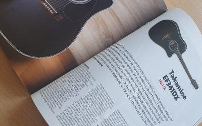 Recenzja Takamine EF341DX wMagazynie Gitarzysta